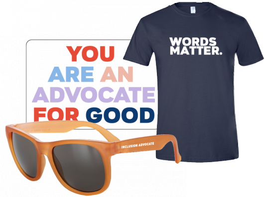 Examples from the Spread the Word kit